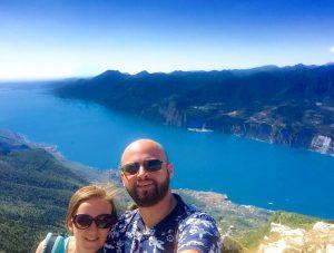 Family trip on Monte Baldo