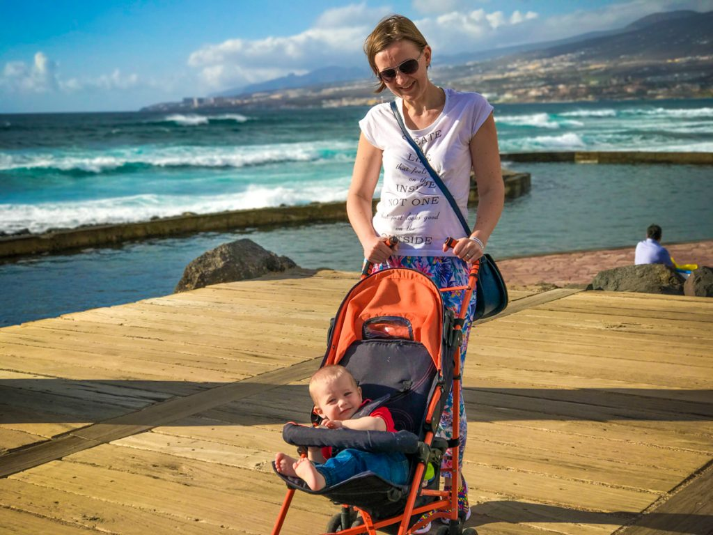 Tenerife with a baby