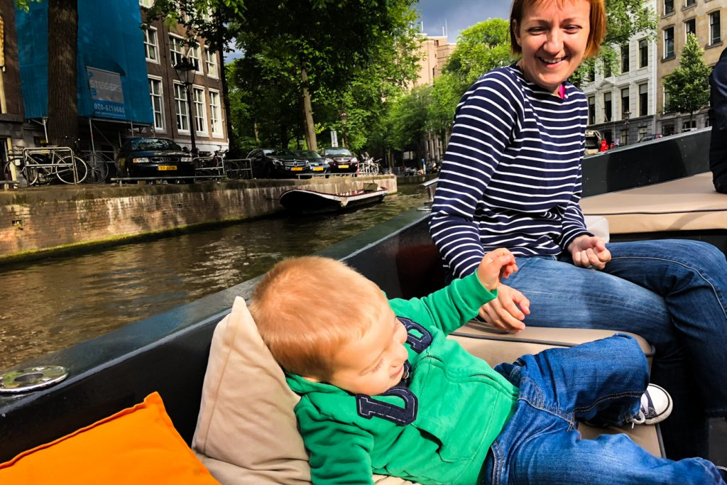 Boat trip in Amsterdam