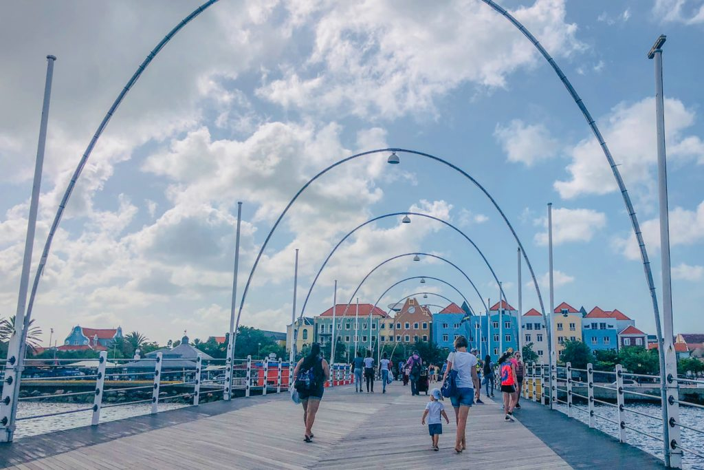 one day in curacao with toddler