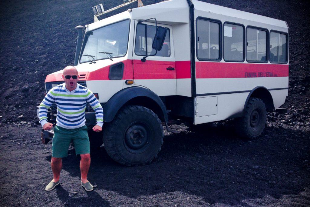 Etna excursie