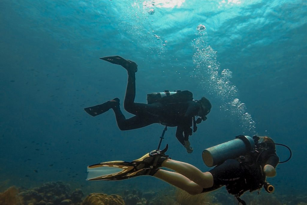 Divers in Bonaire