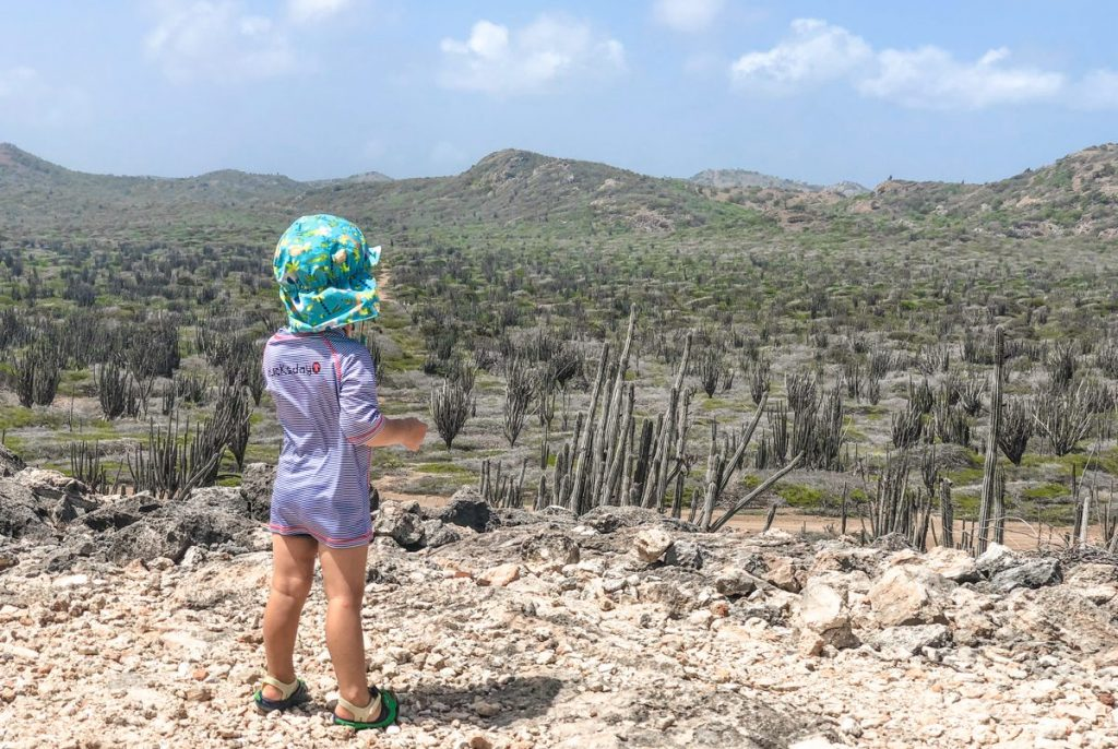 Child in Bonaire National Park