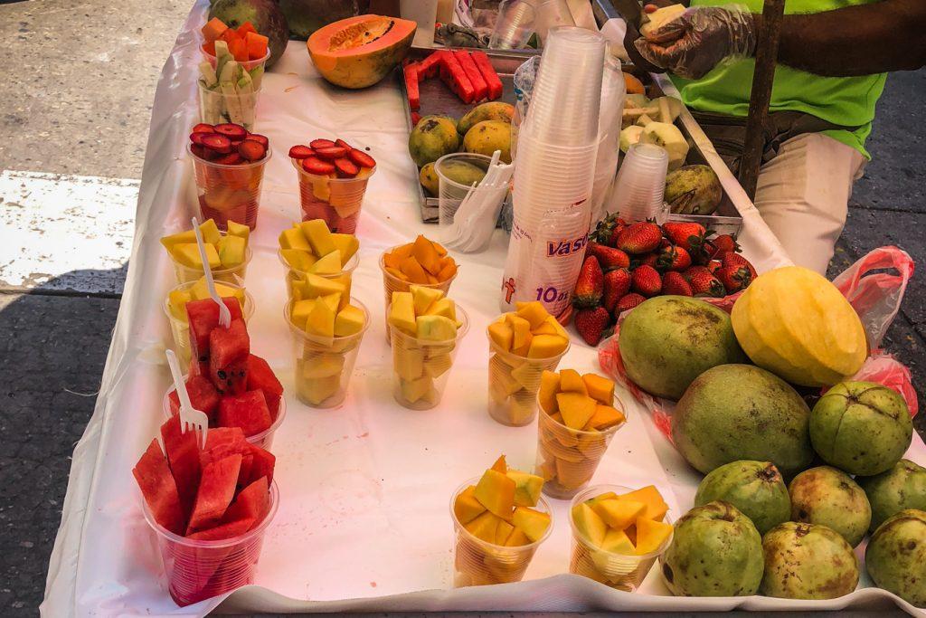 Fruits on Cartagena streets