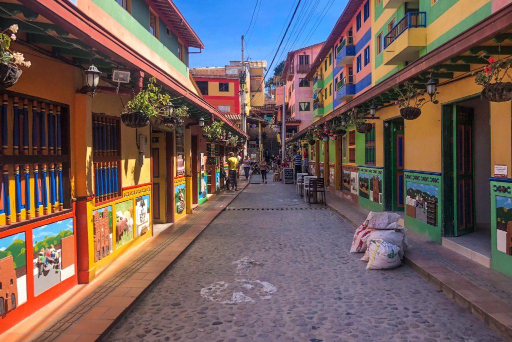 Guatape streets