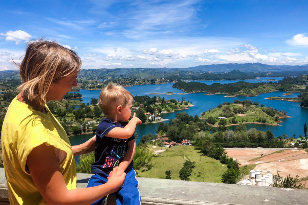 View from Guatape Rock