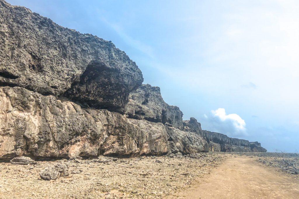 Tsunami Boulders in Bonaire