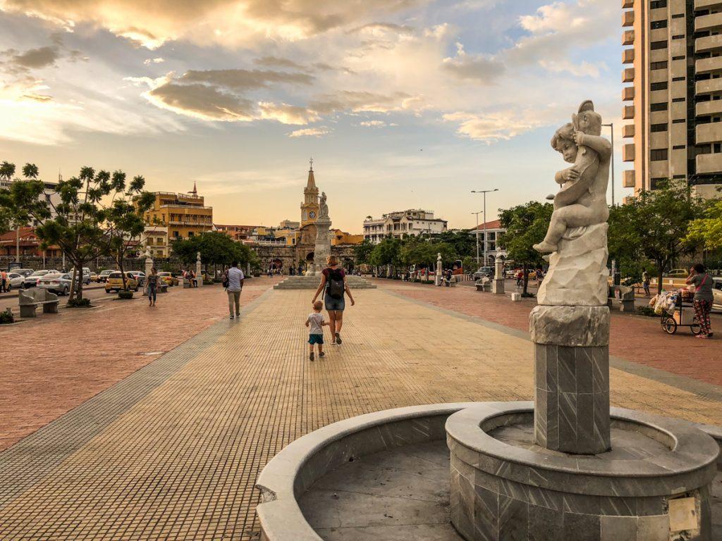 Cartagena with a toddler