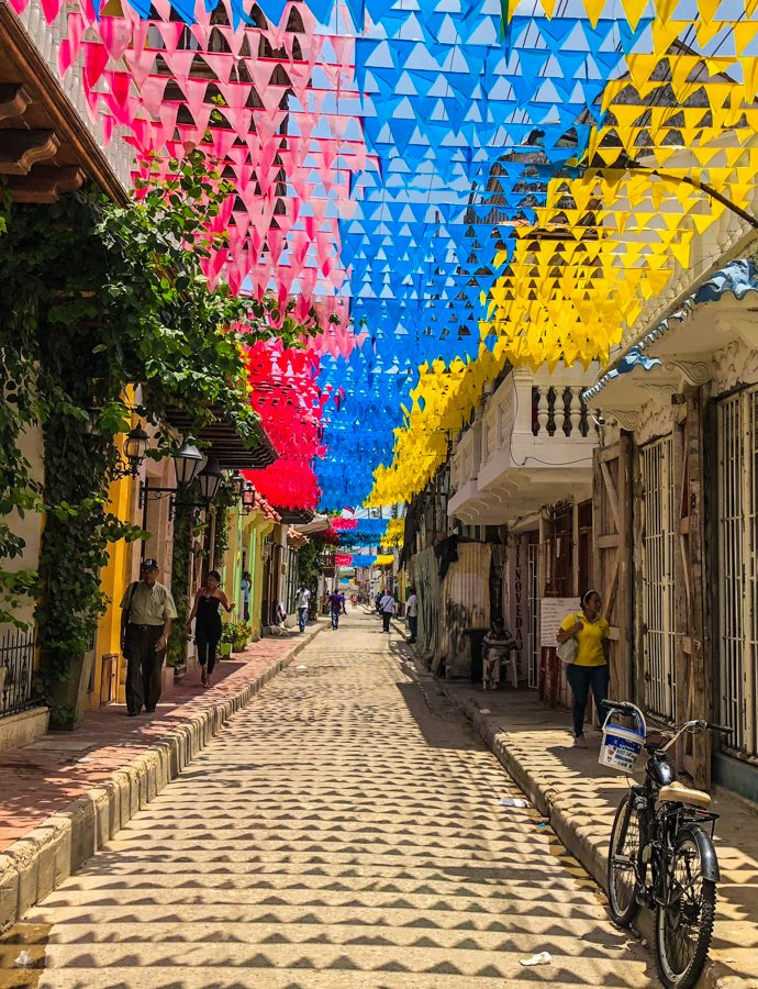 Cartagena de Indias with a toddler