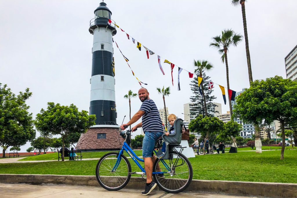 Miraflores Bicycle tour