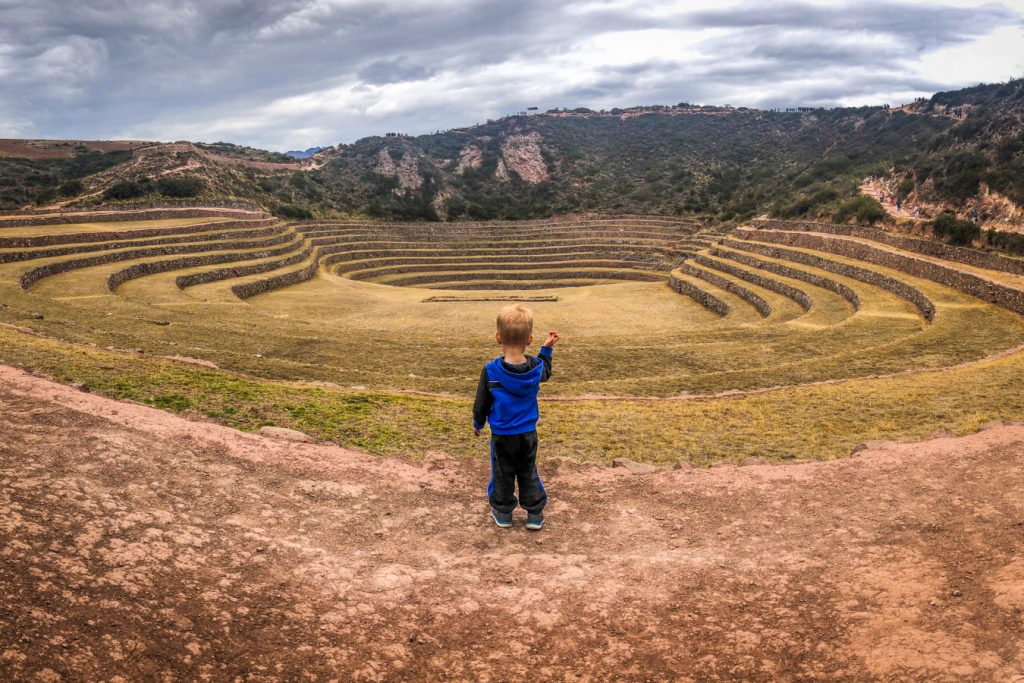 Moray, Sacred Valley with kids