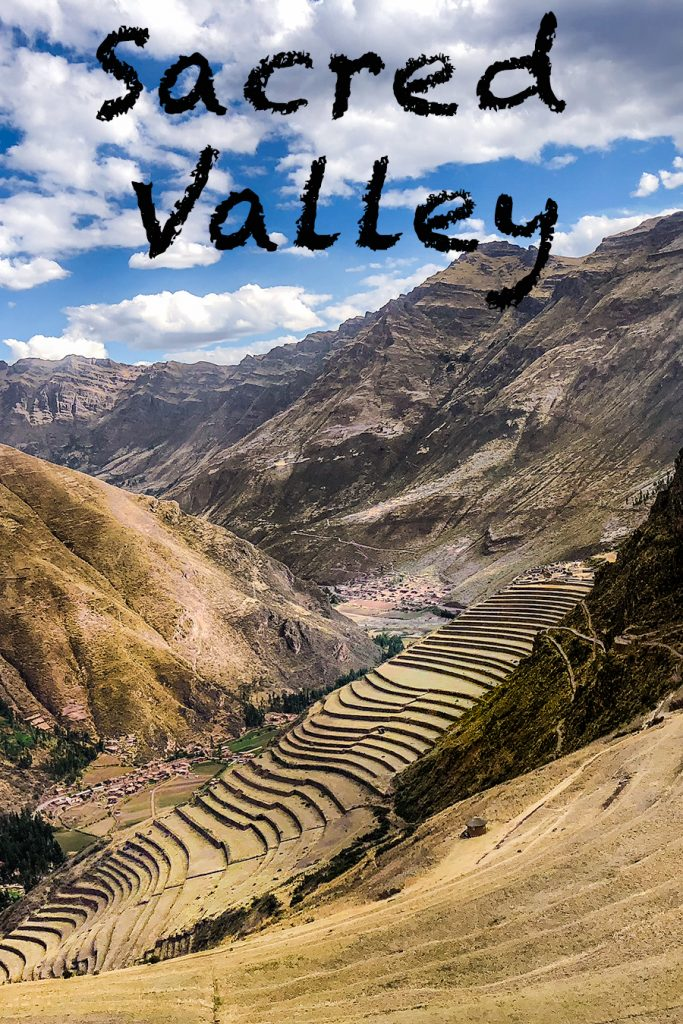 Sacred valley with kids