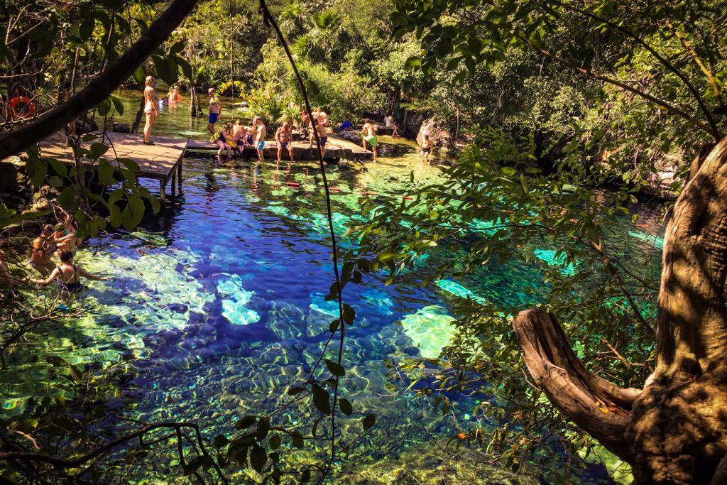cenote azul maya riviera