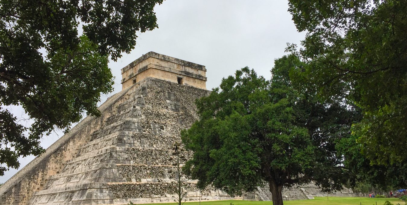 Mayan ruins in the Yucatan peninsula