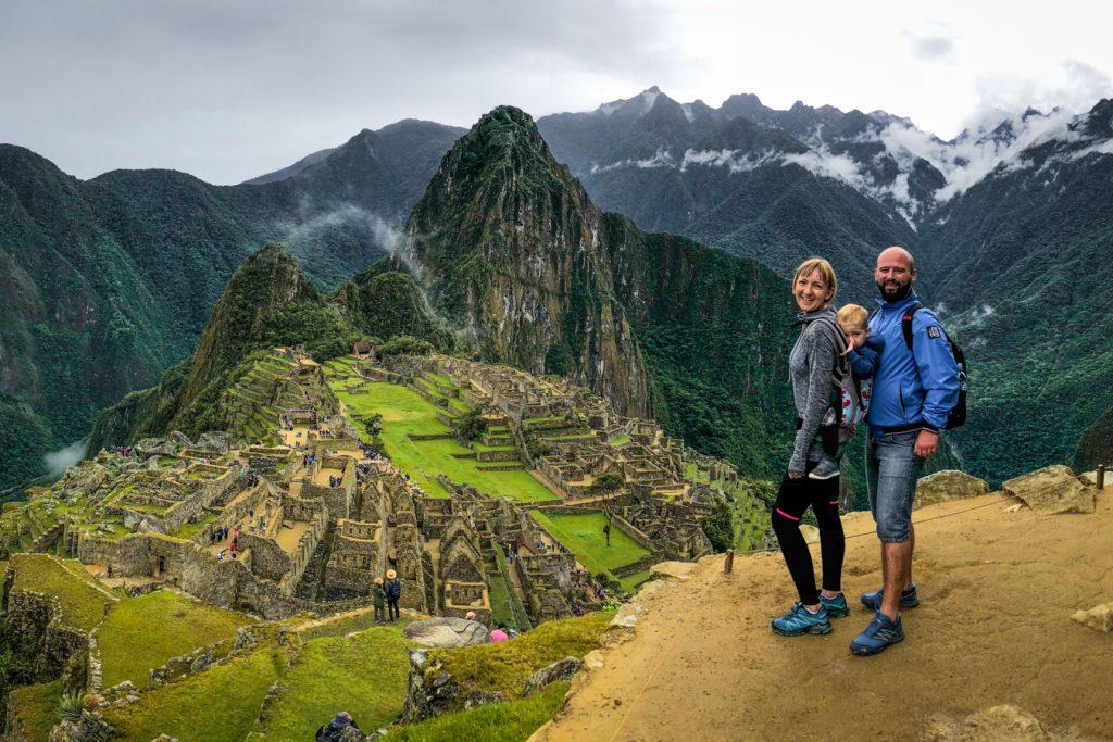 Machu Picchu with a toddler