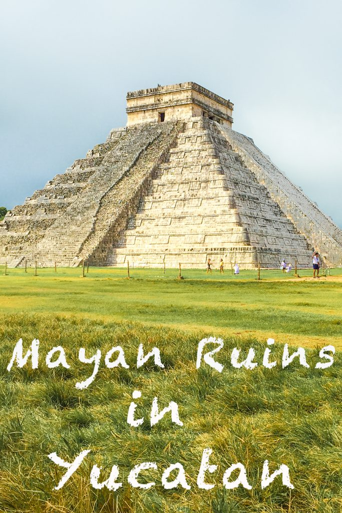 Mayan Ruins in Yucatan