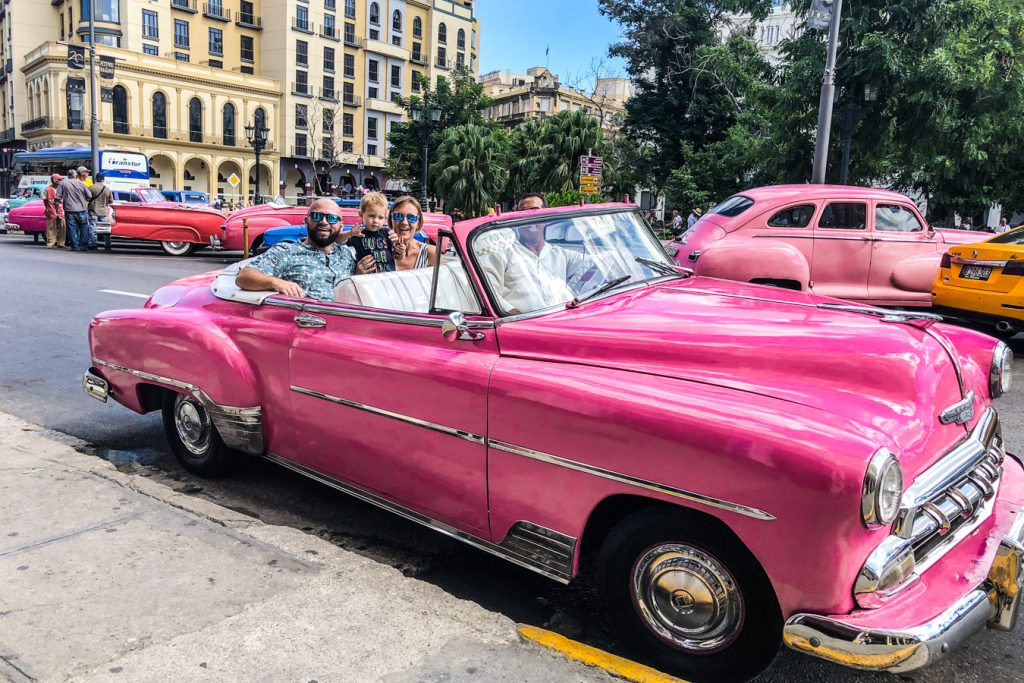 Cuban classical car
