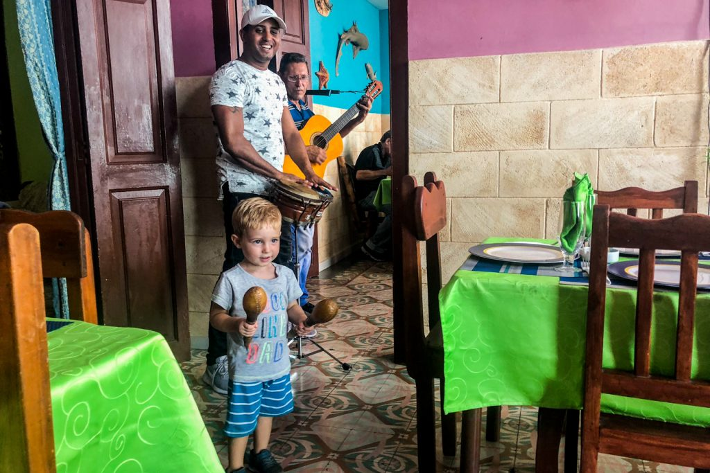 Cuban music in Havana