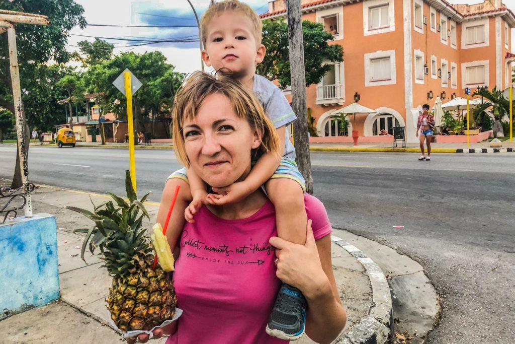 Pina colada in Varadero
