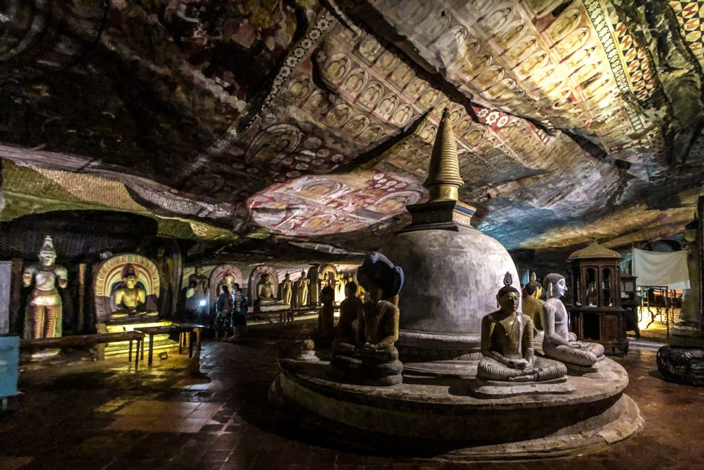 Dambula cave temple, UNESCO world heritage site sri lanka