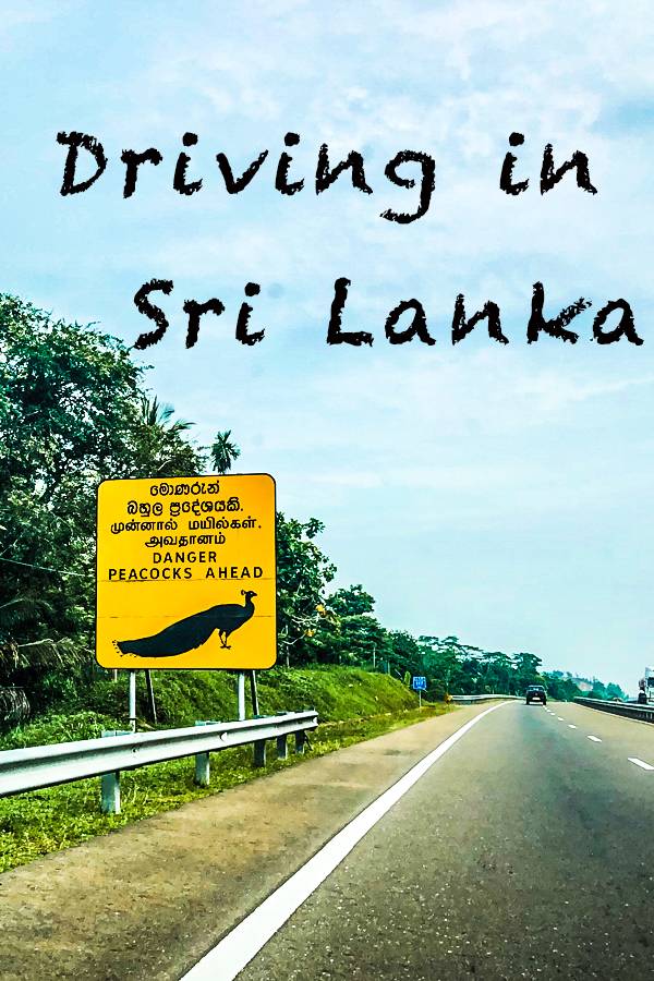 Driving in Sri Lanka
