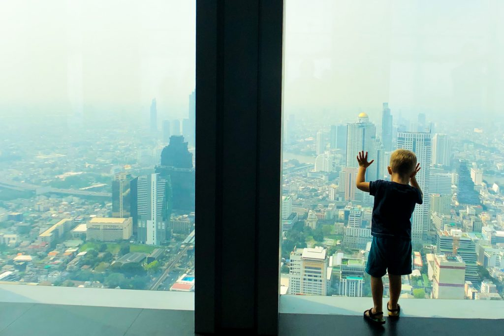 Bangkok with a toddler