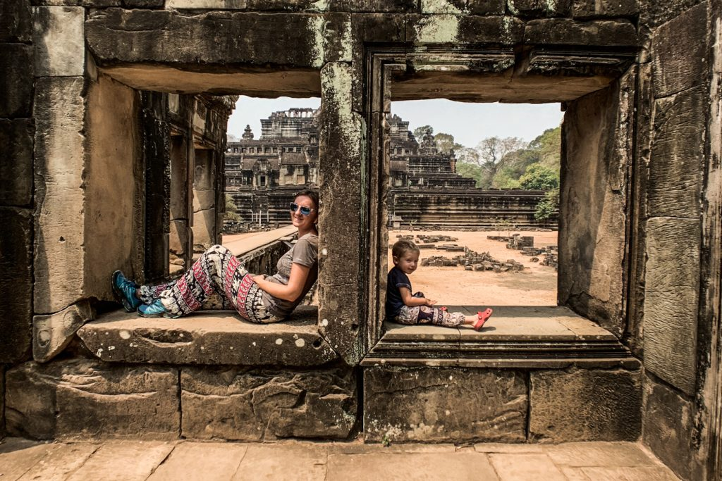 siem reap with toddler