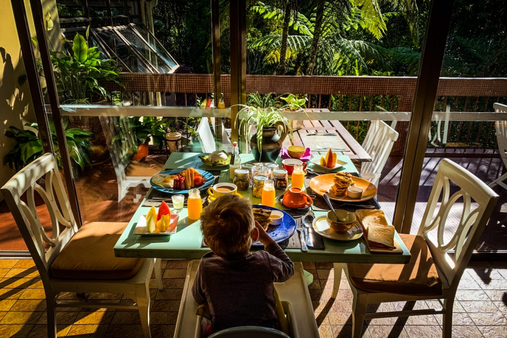 breakfast at sutera sanctuary kinabalu park