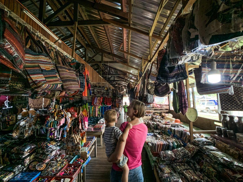 sabah traditional market