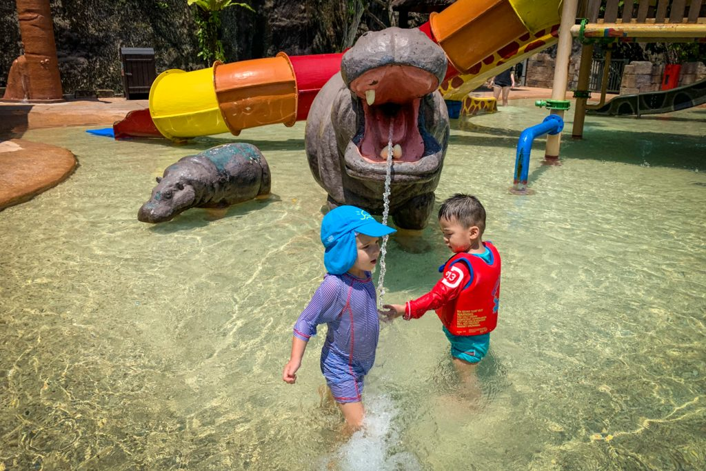 sunwaylagoon with a toddler