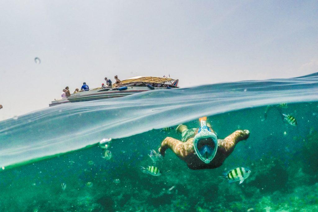 phi phi islands tour snorkelling