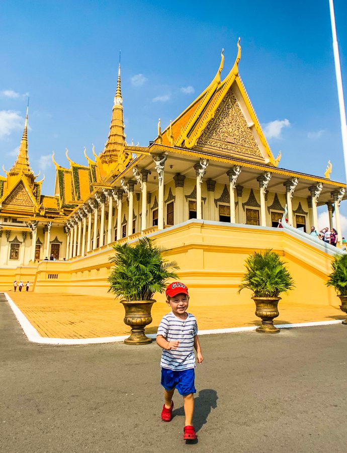 Phnom Penh with a toddler