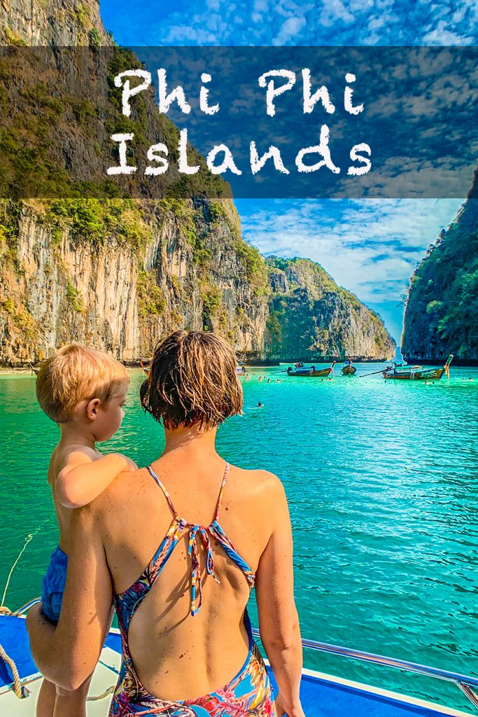 phi phi islands with toddler
