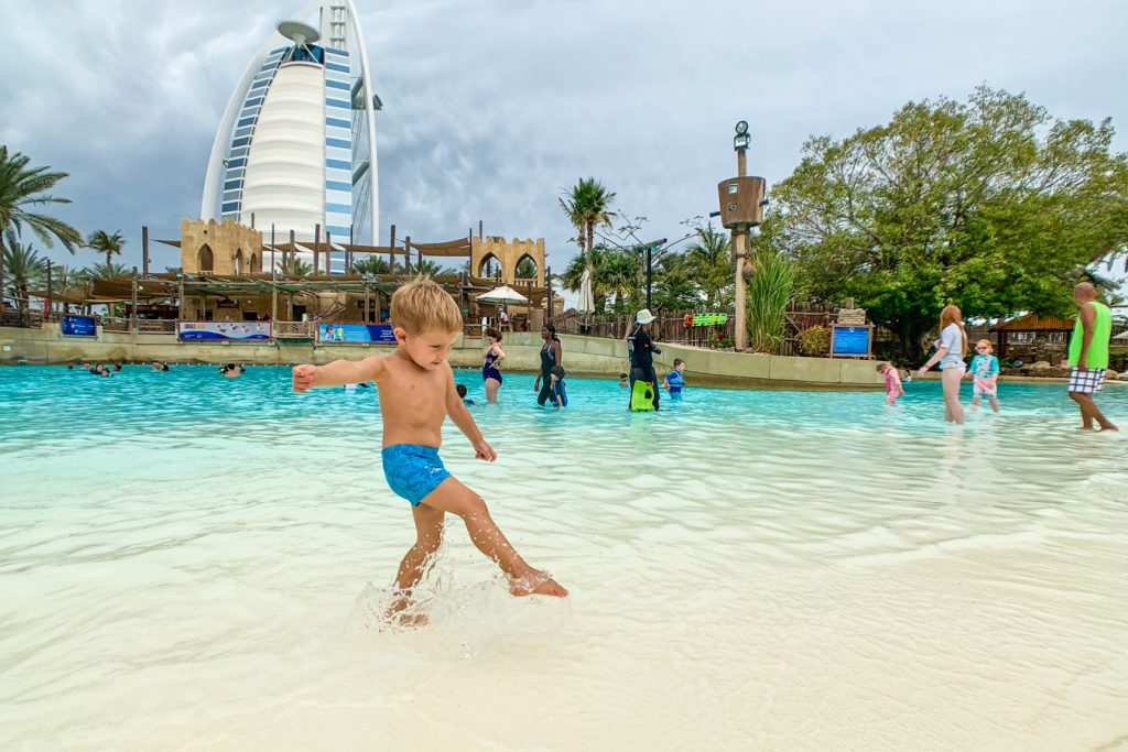 wild wadi with kids