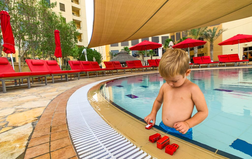 Dubai kids-friendly hotel