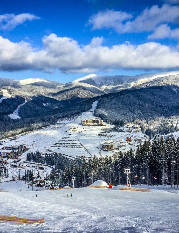 Bukovel, cea mai bună destinație de schi dacă locuiești în nordul României