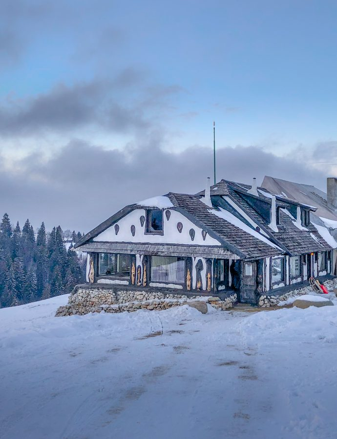 Amfiteatrul Transilvania, a winter wonderland