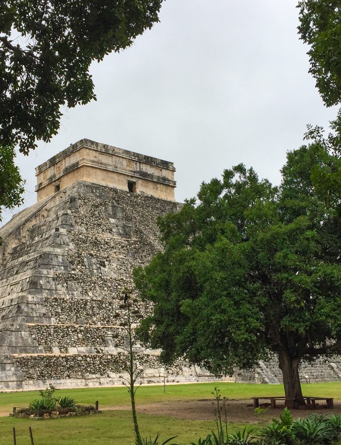 Mayan ruins in the Yucatan peninsula