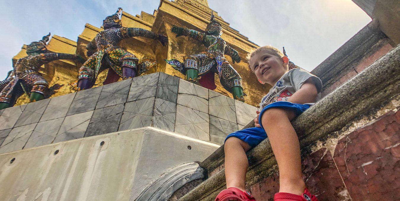 Bangkok with a toddler