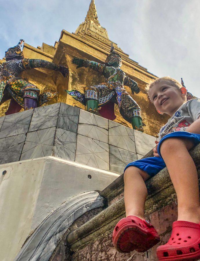 Bangkok cu copiii