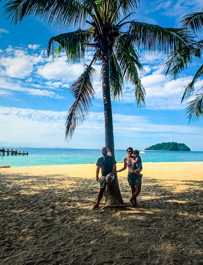 Manukan Island, a tropical paradise