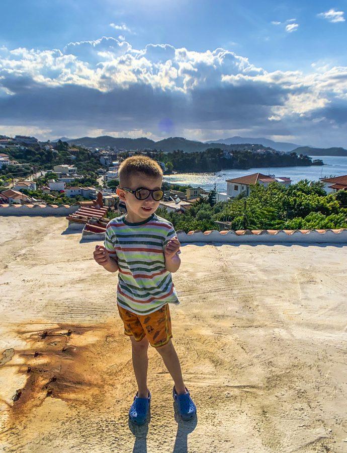 Vacanță în Skiathos cu copilul